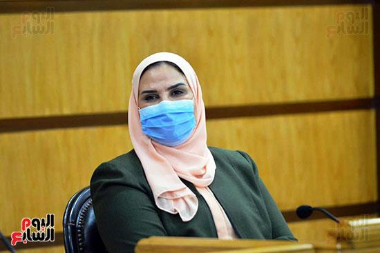 نيفين القباج وزيرة التضامن الاجتماعى (2)
