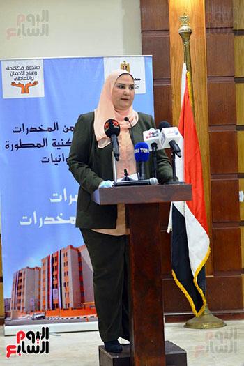 نيفين القباج وزيرة التضامن الاجتماعى (14)