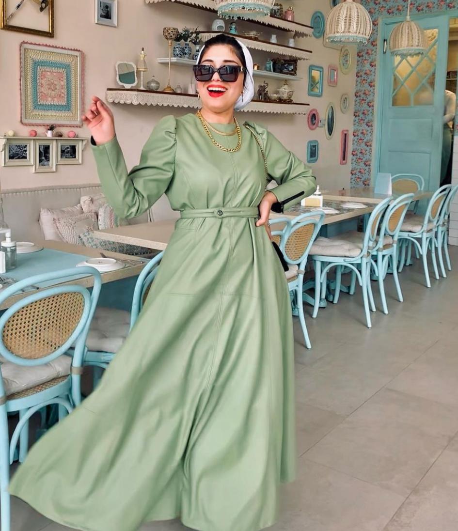 فستان كاجوال من ندا كمال